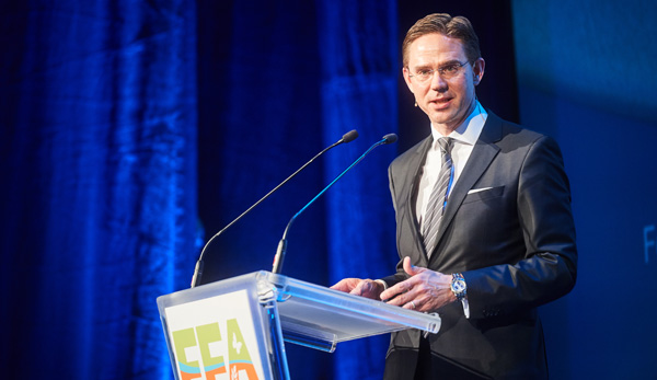 Jyrki Katainen at FFA2017